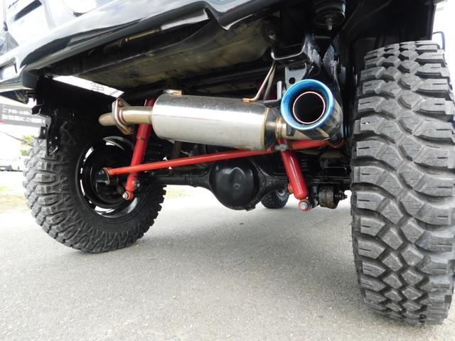 クロスアドベンチャー クライマックスF.Rバンパー新品クライマックスプレート新品・ワンオーナー車 LEDテール・リフトアップ・柿本改マフラー・MT5速・レイズアルミ・マキシスMTタイヤ(8枚目)