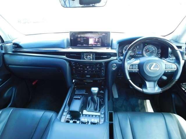 LX570 4WD アラウンドビューモニタ サンルーフ ナビTV DVD LEDヘッドライト シートヒーター クルーズコントロール パワーシート 純正21インチアルミ ETC(5枚目)