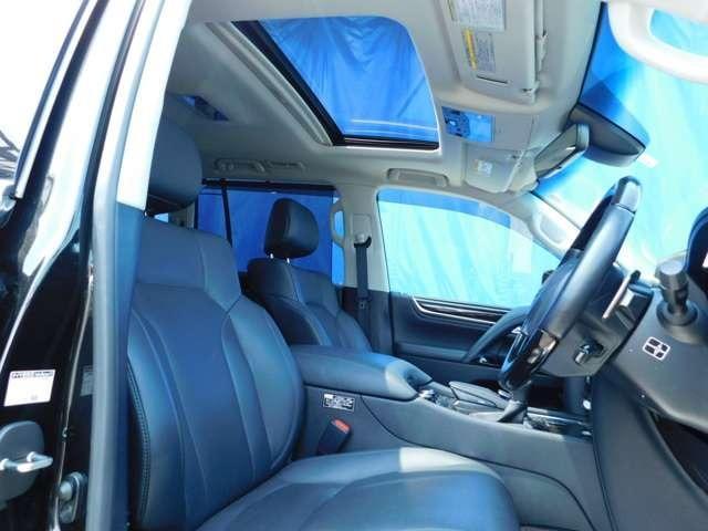 LX570 4WD アラウンドビューモニタ サンルーフ ナビTV DVD LEDヘッドライト シートヒーター クルーズコントロール パワーシート 純正21インチアルミ ETC(7枚目)