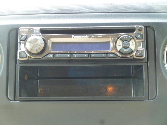 別途¥10,000円〜Bluetooth、USB対応のオーディオに交換可能です☆お車で携帯からの音楽やiPodからの音楽が聴きたいという方にオススメです!