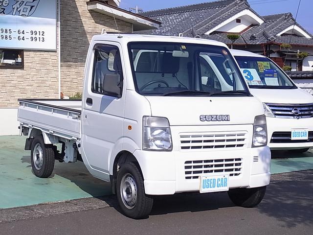 KCエアコン・パワステ 4WD 5MT ワンオーナー 禁煙車(3枚目)