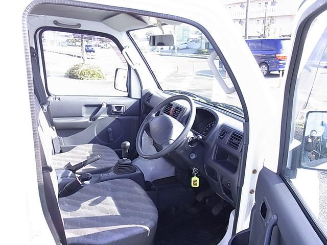 KCエアコン・パワステ 4WD 5MT ワンオーナー 禁煙車(18枚目)