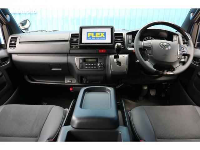 スーパーGL ダークプライムII 9インチサイバーナビ フリップダウン 車内Wifi 両側自動ドア(3枚目)