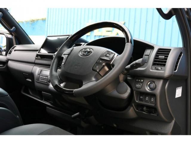 スーパーGL ダークプライムII 9インチサイバーナビ フリップダウン 車内Wifi 両側自動ドア(8枚目)