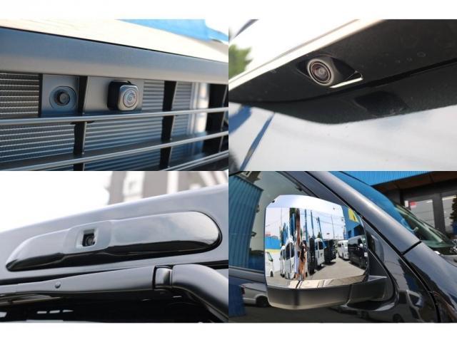 スーパーGL ダークプライムII 9インチサイバーナビ フリップダウン 車内Wifi 両側自動ドア(11枚目)