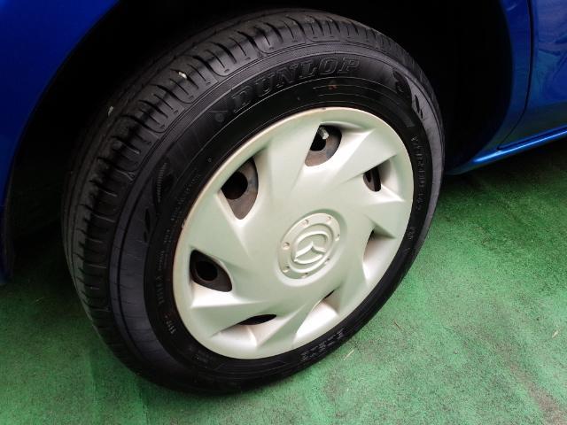 14インチのタイヤです!タイヤ溝はまだまだ残ってますよ。