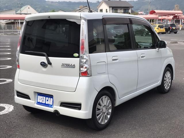 「スバル」「ステラ」「コンパクトカー」「鹿児島県」の中古車7