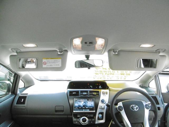 トヨタ プリウスアルファ S インチナビ TV バックカメラ プッシュスタート ETC