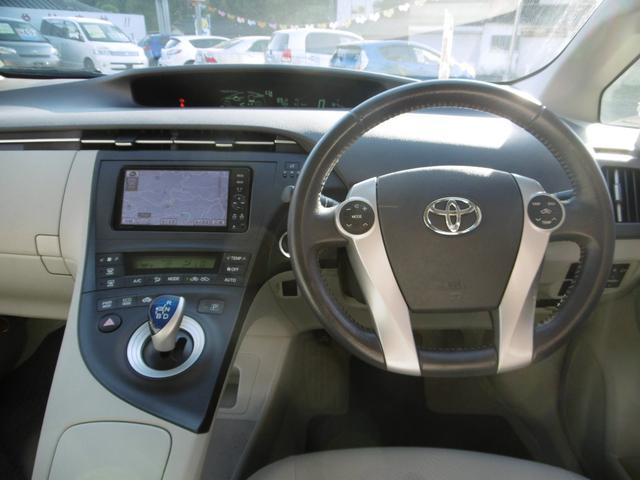 トヨタ プリウス S LEDエディション  ナビ TV バックカメラ LED