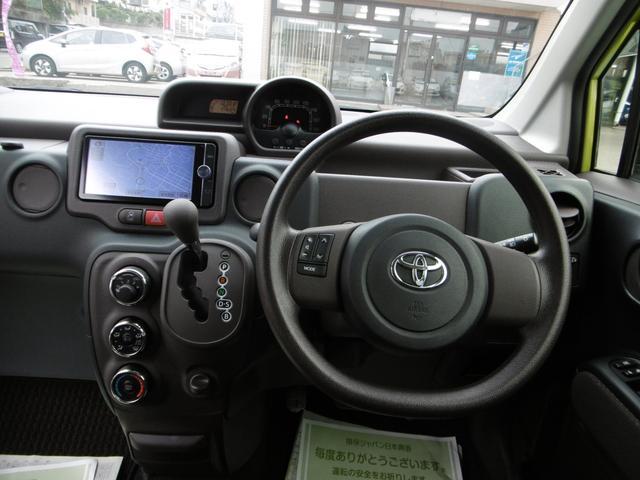 トヨタ スペイド F ナビ TV バックカメラ アイドリングストップ