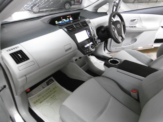 トヨタ プリウスアルファ S  ナビTV バックカメラETC プッシュスタート アルミ