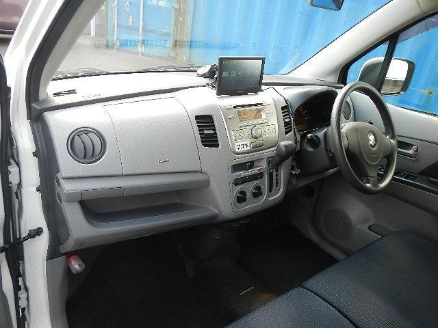 スズキ ワゴンR FX ポータブルナビ キーレス CD ETC 電動格納ミラー