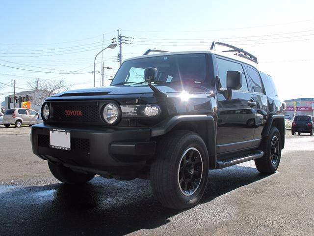 トヨタ FJクルーザー ブラックカラーパッケージ