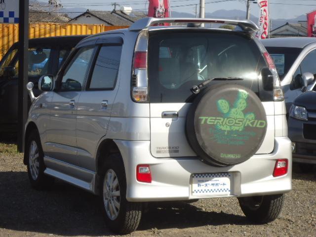カスタムL 禁煙車 リモコンキー 走行45000km 車検令和4年9月 背面タイヤ 15インチアルミホイール ターボ車 CDオーディオ(5枚目)
