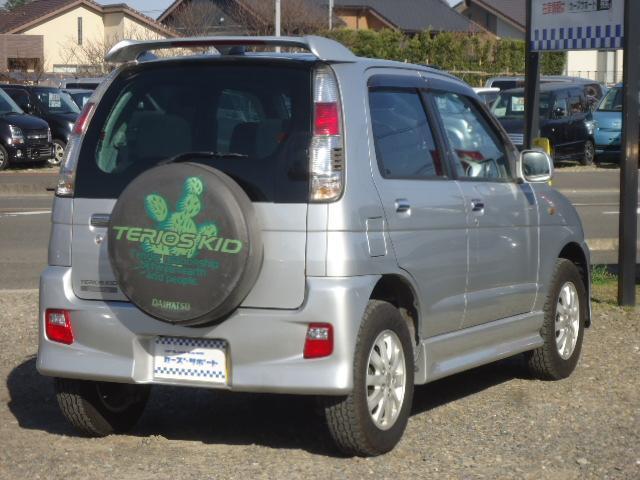 カスタムL 禁煙車 リモコンキー 走行45000km 車検令和4年9月 背面タイヤ 15インチアルミホイール ターボ車 CDオーディオ(7枚目)