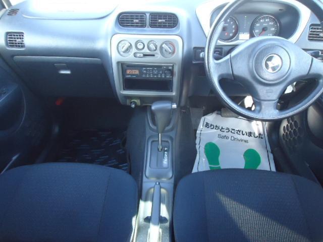カスタムL 禁煙車 リモコンキー 走行45000km 車検令和4年9月 背面タイヤ 15インチアルミホイール ターボ車 CDオーディオ(11枚目)