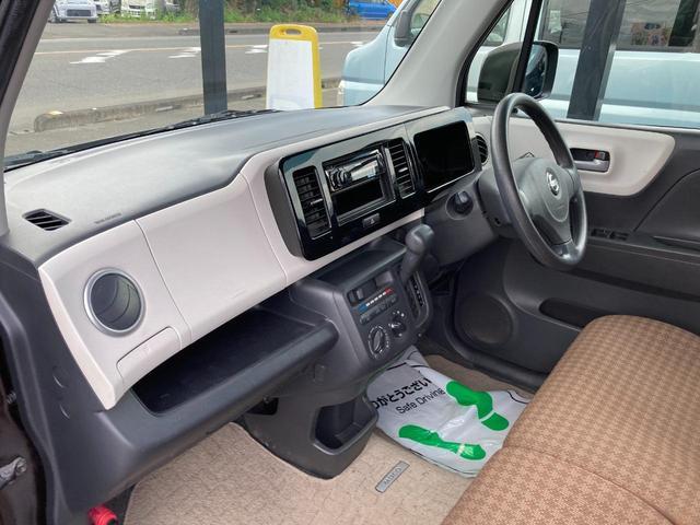 S アイドリングストップ エンジンプッシュスタート アイドリングストップ スマートキー CDオーディオヘッドライトレベライザー 社外14インチアルミホイール(11枚目)