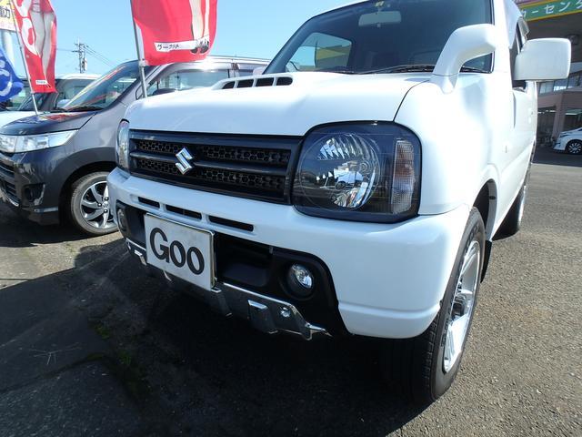 スズキ ジムニー XC ターボ 4WD 背面タイヤ ナビTV ETC