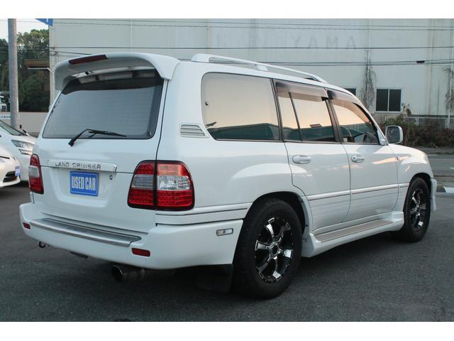 「トヨタ」「ランドクルーザー100」「SUV・クロカン」「熊本県」の中古車4