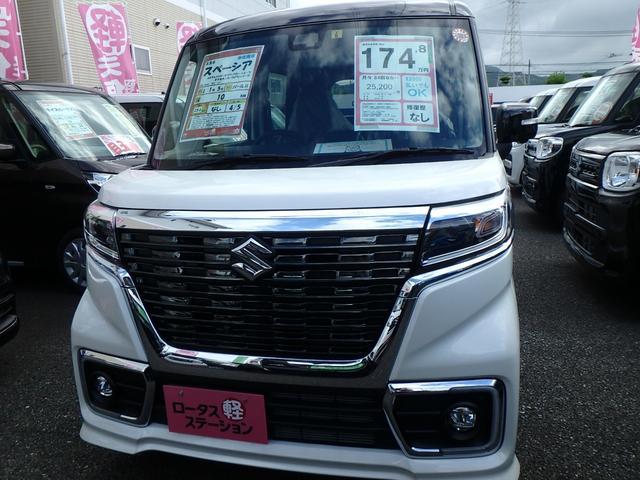「スズキ」「スペーシアカスタム」「コンパクトカー」「熊本県」の中古車2