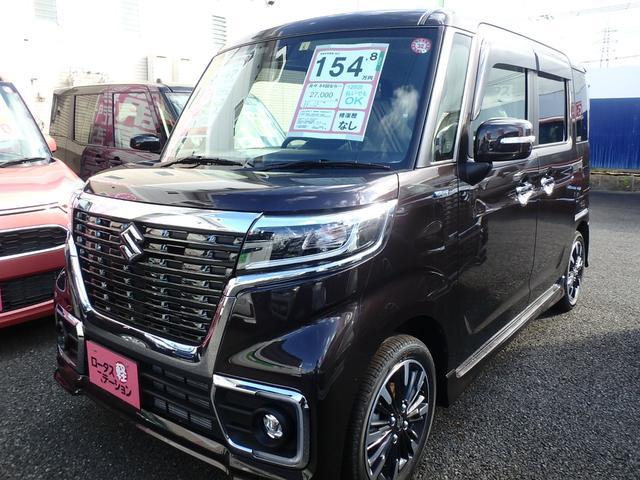 「スズキ」「スペーシアカスタム」「コンパクトカー」「熊本県」の中古車35