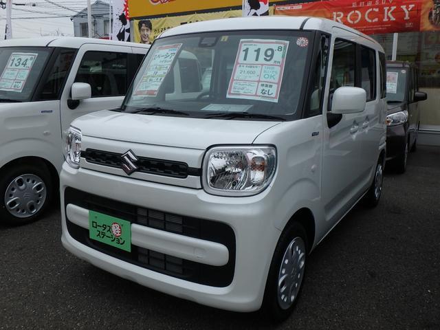 「スズキ」「スペーシア」「コンパクトカー」「熊本県」の中古車36