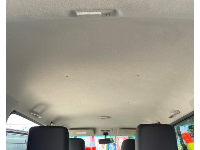 天井は高さがあるので圧迫感もなく、広くてとてもキレイです。