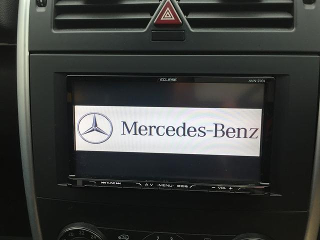 メルセデス・ベンツ M・ベンツ B170 社外ナビ フルセグTV