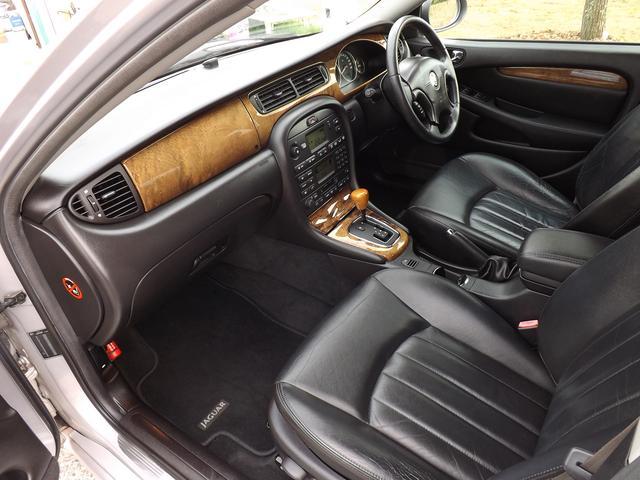 ジャガー ジャガー Xタイプ 2.5 V6水廻り新品メンテナンス済ETCセンサー黒革シート