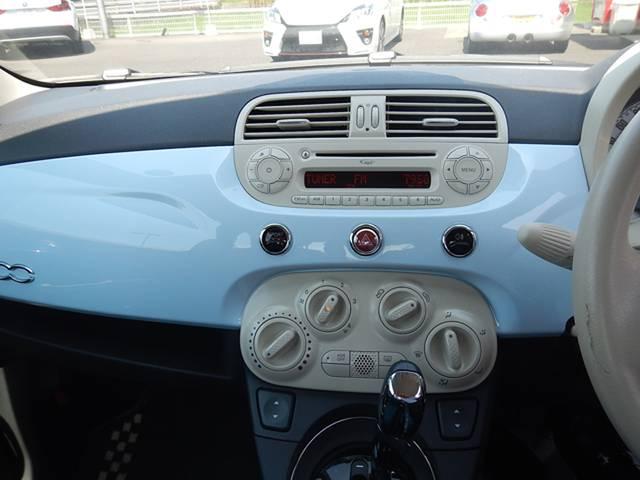 フィアット フィアット 500 1.4 16V ポップ ワンオーナー ETC CD