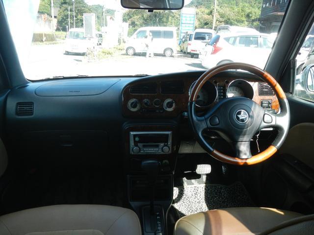 ダイハツ ミラジーノ ジーノ キーレス CD ETC ウッド調ハンドル・インパネ