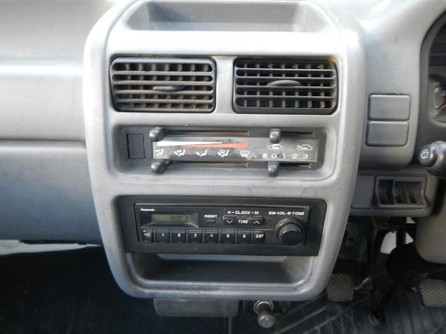 スバル サンバートラック 5速MT ラジオ 荷台ゴムマット