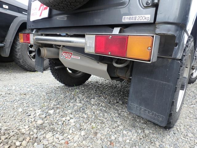 4WD ターボ 5速マニュアル MTタイヤ 社外マフラー(16枚目)
