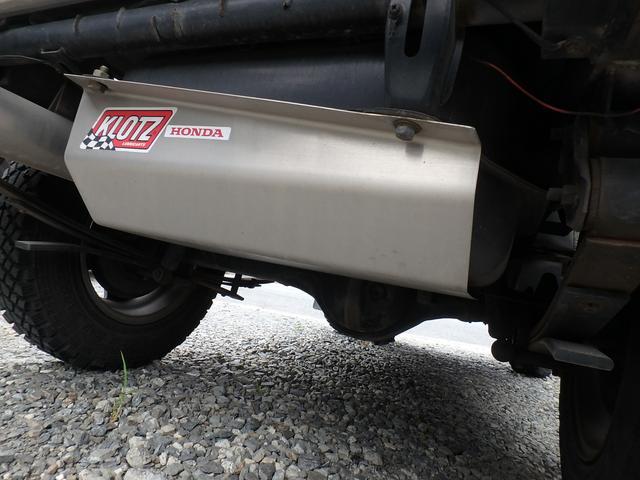 4WD ターボ 5速マニュアル MTタイヤ 社外マフラー(18枚目)