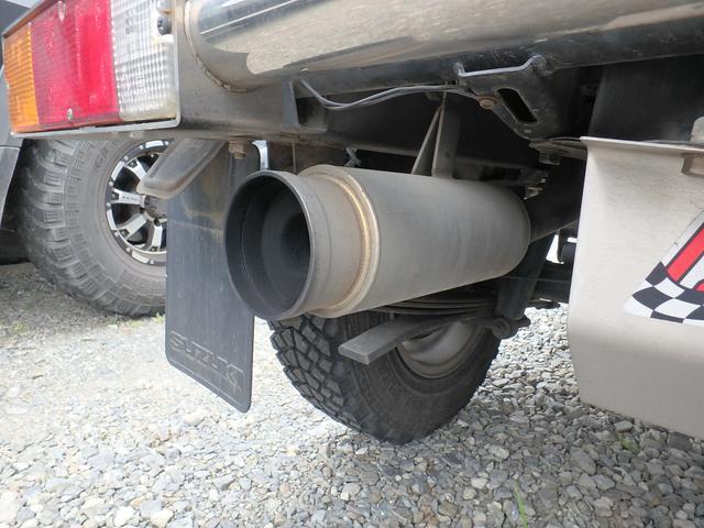 4WD ターボ 5速マニュアル MTタイヤ 社外マフラー(19枚目)