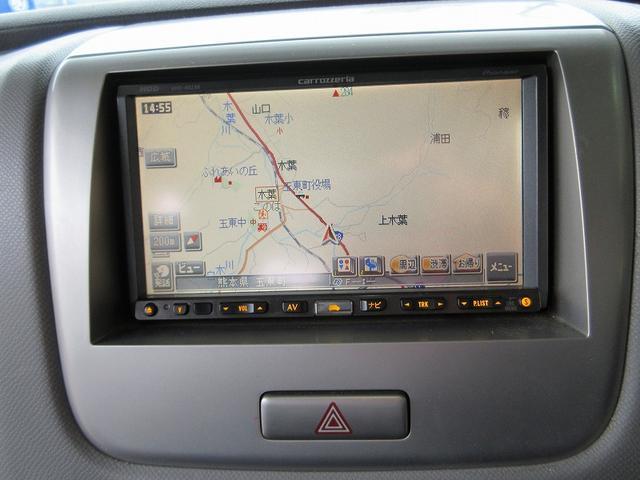 スズキ ワゴンR FXリミテッド HDDナビ フルセグ ローダウン