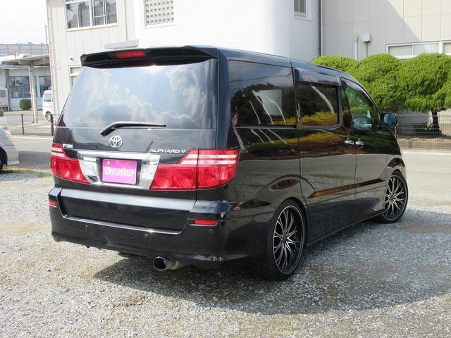 トヨタ アルファードV AX Lエディション 車高調 社外アルミ パワースライドドア