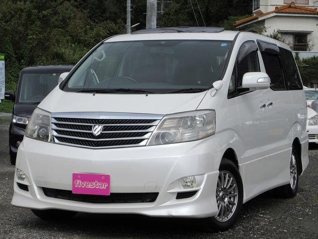 「トヨタ」「アルファード」「ミニバン・ワンボックス」「熊本県」の中古車25