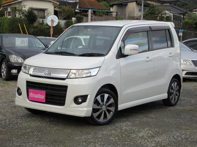 「スズキ」「ワゴンRスティングレー」「コンパクトカー」「熊本県」の中古車19