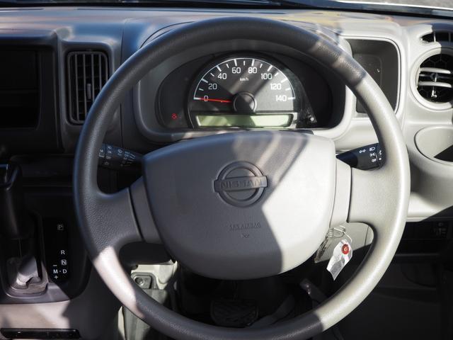 DX 禁煙車 エアバッグ パワーステアリング エアコン 両側スライドドア 純正FMAMラジオ(11枚目)