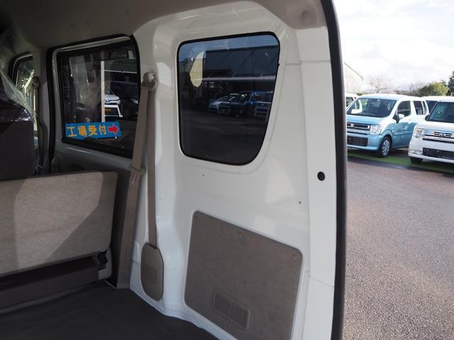 DX 禁煙車 エアバッグ パワーステアリング エアコン 両側スライドドア 純正FMAMラジオ(16枚目)
