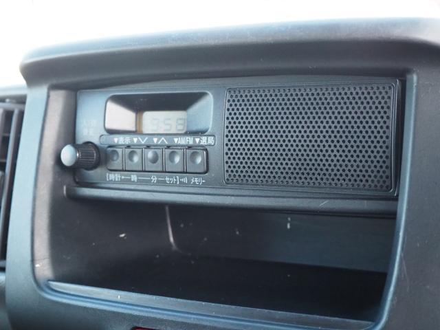 DX 禁煙車 エアバッグ パワーステアリング エアコン 両側スライドドア 純正FMAMラジオ(33枚目)