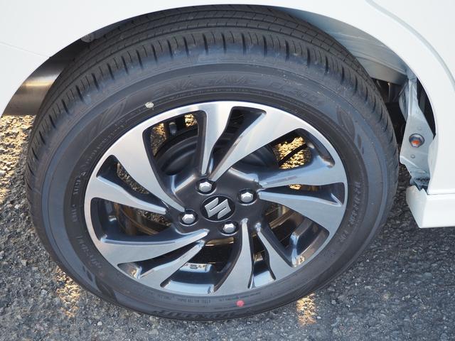 ハイブリッドMV 登録済未使用車 両側電動スライドドア デュアルカメラブレーキ LEDヘッドライト 純正アルミホイール エンジンプッシュスタート シートヒーター バニティミラー(14枚目)