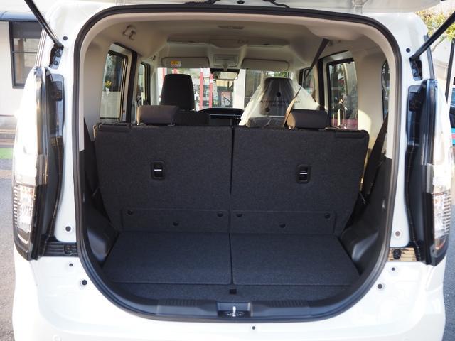 ハイブリッドMV 登録済未使用車 両側電動スライドドア デュアルカメラブレーキ LEDヘッドライト 純正アルミホイール エンジンプッシュスタート シートヒーター バニティミラー(28枚目)