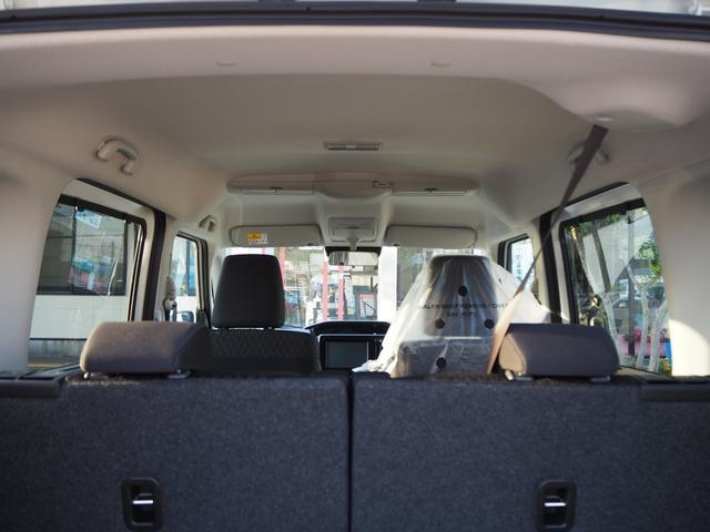 ハイブリッドMV 登録済未使用車 両側電動スライドドア デュアルカメラブレーキ LEDヘッドライト 純正アルミホイール エンジンプッシュスタート シートヒーター バニティミラー(29枚目)