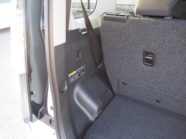 ハイブリッドMV 登録済未使用車 両側電動スライドドア デュアルカメラブレーキ LEDヘッドライト 純正アルミホイール エンジンプッシュスタート シートヒーター バニティミラー(32枚目)