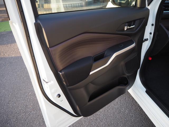 ハイブリッドMV 登録済未使用車 両側電動スライドドア デュアルカメラブレーキ LEDヘッドライト 純正アルミホイール エンジンプッシュスタート シートヒーター バニティミラー(46枚目)