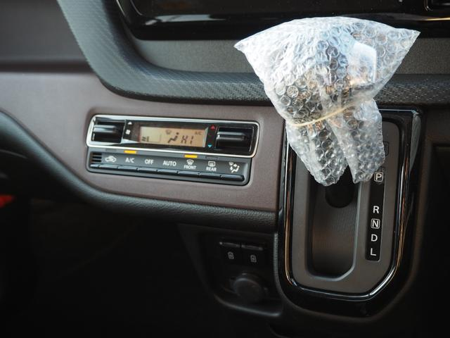 ハイブリッドMV 登録済未使用車 両側電動スライドドア デュアルカメラブレーキ LEDヘッドライト 純正アルミホイール エンジンプッシュスタート シートヒーター バニティミラー(48枚目)