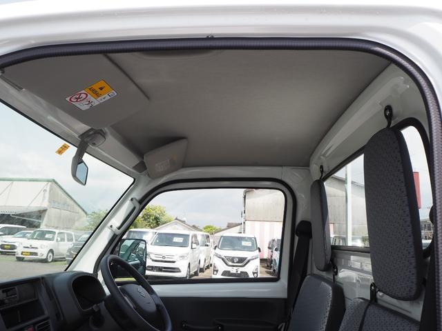 KCエアコン・パワステ 届出済未使用車 4輪駆動 エアバッグ ABS 純正FMAMラジオ 3方開き スペアキー メーカー保証付き(31枚目)
