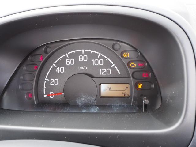 KCエアコン・パワステ 届出済未使用車 4輪駆動 エアバッグ ABS 純正FMAMラジオ 3方開き スペアキー メーカー保証付き(33枚目)